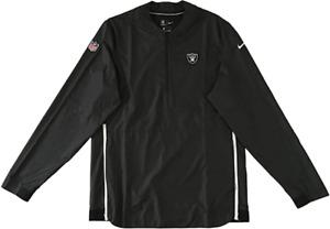 Nike Mens Las Vegas Raiders Oakland Coaches Sideline Pullover Jacket Medium NEW