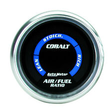 "AUTOMETER COBALT AIR FUEL RATIO (AFR) O2 LEAN RICH GAUGE 2 1/16"" (52mm)"