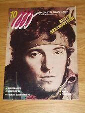 MM magazine 10 1988 Bruce Springsteen on cover * Kraftwerk  Klaus Schulze * Sade