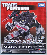 TAKARA TOMY TRANSFORMERS E HOBBY LIMITED BLACK MAGNIFICUS NEW