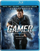 Gamer (Blu-ray Disc, 2010, 2-Disc Set, Canadian)M