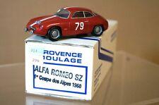 Provence Moulage 1960 Alfa Romeo Sz Coupé Des Alpes Ar