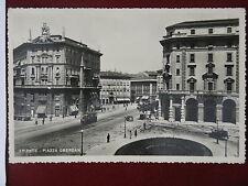 TRIESTE-Piazza Oberdan-animata,anni 50,no viagg#5782