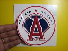 """BEST PRICE!! LOT OF 10 MLB DECAL / STICKER ANAHEIM ANGELS  5"""" X 5"""""""