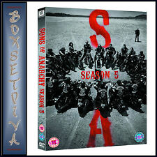 SONS OF ANARCHY -  COMPLETE SERIES SEASON 5  **BRAND NEW DVD **