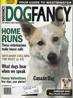 Dog Fancy Magazine February 2001 , Canaan Dog , Picardy Shepherd ,   /j8
