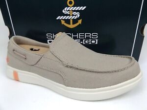 Skechers Womens Glide Ultra Natural Loafers Size 6.5 Comfort Walk Shoe NEW 19656