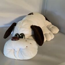 Vintage 1985 Pound Puppies Puppy Tonka Gray Black Spotted Plush Stuffed Toy Read