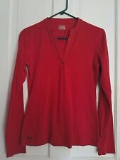 EUC! Converse One Star red long sleeved shirt, size small