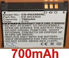 Batería 700mAh tipo EB-BSX800 Para Panasonic X800, EB-X800