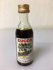 Mignon Miniature Elixir Rabarbaro Zucca 4cl 16% Vol Vintage A/36