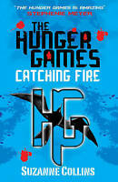 The hunger games Catching Fire by Suzanne Collins  Paperback copy