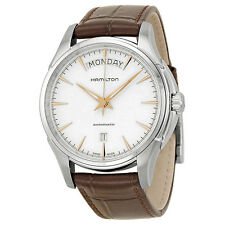 Hamilton Jazzmaster White Dial Stainless Steel Mens Watch H32505511