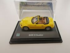 Yellow BMW Z3 Cabriolet 1/72 Hongwell Cararama boxed/packaged