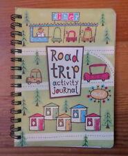 Road Trip Activity Journal Book Car Auto Family Travel mudpuppy press Spiral Bnd