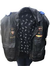 mens flying jacket leather Xl