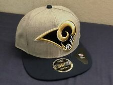 NEW ERA LOS ANGELES RAMS SNAP BACK HAT 2 TONE NAVY GREY NFL