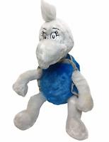 "Kohl's Dr Seuss Yertle Turtle Plush Blue Gray Doll Stuffed Animal Toy 16"""