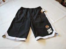 DC shoes Baller BY black shorts youth large L LG fast dry moisture wicking Boy's