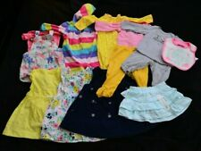 Lot of 11 Mixed Carter's Baby Girl Clothes 6-9 Months Bodysuits Dresses Leggings