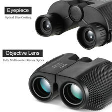 Foldable Pocket 10x25 Binoculars 114m/1000m Scope for Outdoor Sightseeing Games
