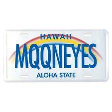 MOONEYES Kennzeichen Hawaii Aloha State license plate vintage style beach surf