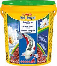 Sera Koi Royal Medium 21 Liter Eimer Hauptfutter Koifutter Teichfutter 4mm