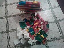 Gioco piccole costruzioni VINTAGE no LEGO circa 400 gr.