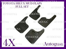 NEW FULL SET TOYOTA HILUX 4WD 05-14 OEM FITMENT MUD FLAPS SPLASH MUD GUARDS