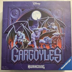 Gargoyles Board Game by Ravensburger NEW In Stock Disney SHIPS FAST with 6 Minis