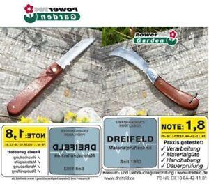 2 Gartenmesser Blumenmesser Okuliermesser Taschenmesser Edelstahl
