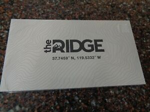 The Ridge Topographic Wallet (Sealed, Brand New) Cash Strap Wallet w Money Clip
