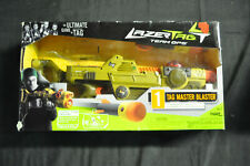 LAZER TAG TEAM OPS 2PLAYER DELUXE SET 1 BLASTER,4IRT-2X GUNS,2HEADSETS VF