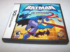 Batman The Brave and the Bold (Nintendo DS) Lite DSi XL 3DS 2DS w/Case & Manual