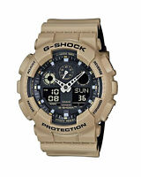 Casio G-Shock Military 3-Eye Ana-Digital Sand/Black Watch GA100L-8A