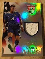 2015 Panini USA SOCCER Danny Williams Jersey Card 067/299
