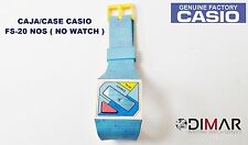 VINTAGE CASE/CAJA  CASIO FS-20 NOS ( NO WATCH )