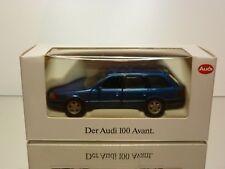 SCHABAK 1055 AUDI 100 AVANT - BLUE METALLIC  1:43 - EXCELLENT IN BOX