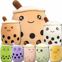 24-50cm Bubble Tea Boba Cup Soft Stuffed Plush Pillow Cushion Kawaii Xmas Gift