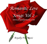 TWO ROYALTY-FREE ROMANTIC THEMED ALBUMS Supporting LOCAL HOPSICES CHARITY