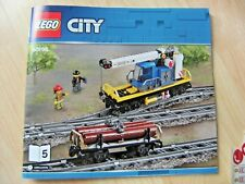 Lego City Train - Crane & Log Carriages / From Set 60198 BRAND NEW