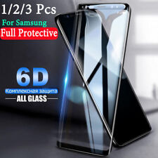 6D Tempered Glass For Samsung Galaxy Note 10 Plus S10 S9 Full Screen Protective