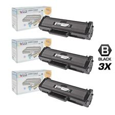LD 3 Pack MLT-D104S Black Toner Cartridge for Samsung ML-1665 1661 1666 ML-1667