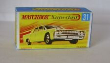 Repro Box Matchbox Superfast Nr.31 Lincoln Continental