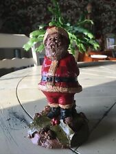 """Tom Clark Gnome 1987 Santa """"Mr Claus"""" #1180 Edition #84 Year Ink Signed~Retired"""
