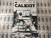 Calexit (2017) Black Mask - #2, 1st Print, Pizzolo/Nahuelpan, NM