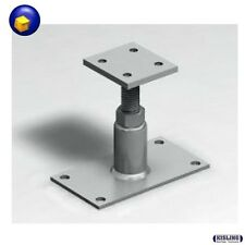 Base Support post Carrier Height-Adjustable from 135 - 215 mm Carport Leg