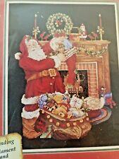 Janlynn Christmas Cross stitch Santa's Fireplace #125-221