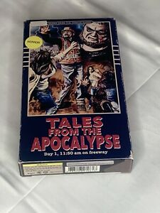 Zombie Tales Of Apocalypse TRAFFIC GUARD PLASTIC MODEL KIT Looks Like Horror Vhs