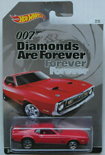 Hot Wheels 1971 Ford Mustang Mach 1 rot James Bond 007 Diamonds Are Forever ´71
